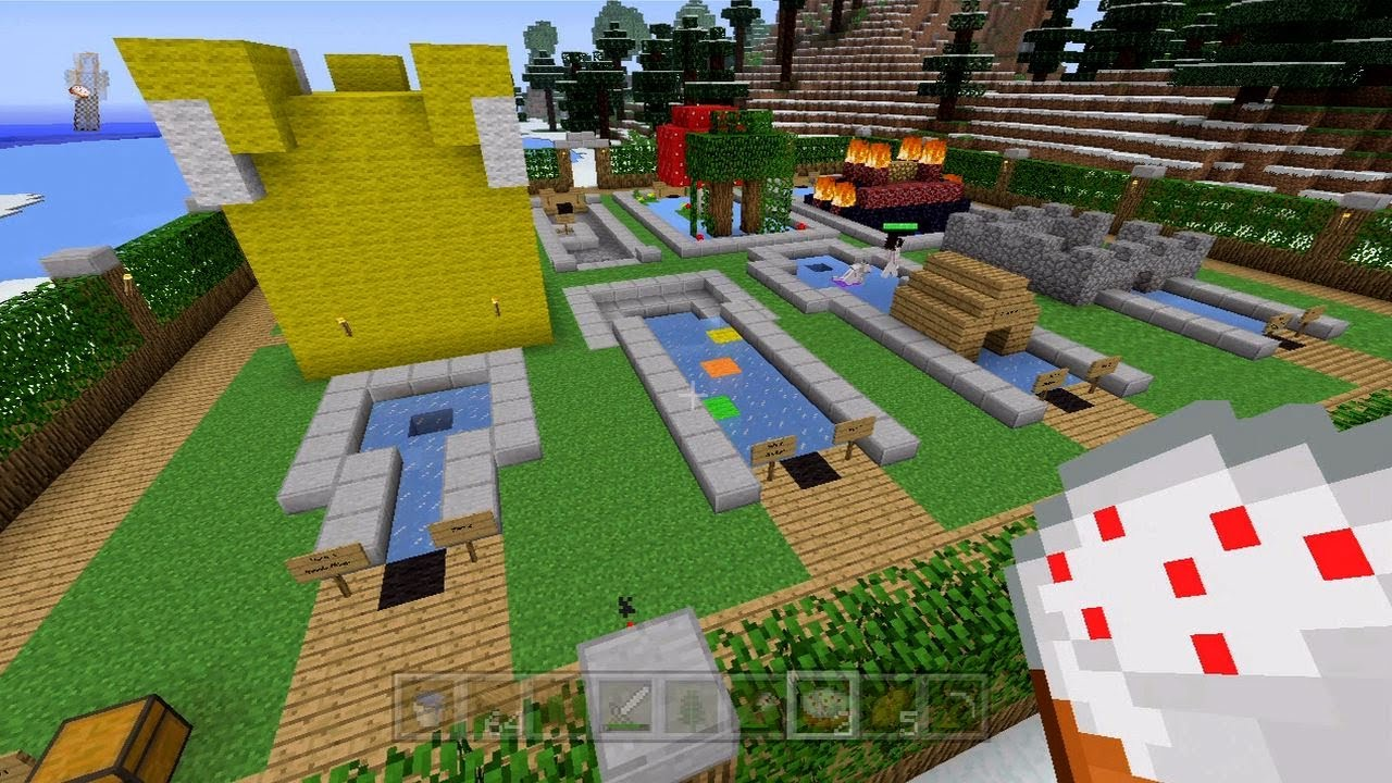 minecraft xbox 360 lovely day for golf 43 - Christmas Minecraft Videos