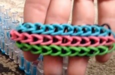 How to make a triple single rainbow loom bracelet