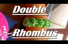 How to Make The Double Rhombus Rainbow Loom Bracelet