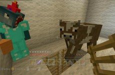 Minecraft Xbox – Quest To Push A Cow (31)