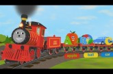 Alphabet Train Poster XL!!!! Great train theme fun and educational!