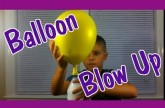 Easy Kids Science Experiments Balloon Blow Up