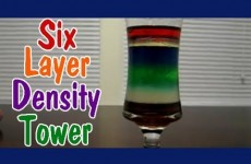 Easy Kids Science Experiments DENSITY TOWER