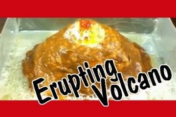 Easy Kids Science Experiments How to Make a Volcano