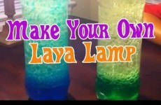 Easy Kids Science Experiments How to Make a LAVA LAMP