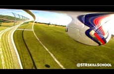 Football Trick Shot – Unseen STRskillSchool