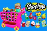 Frozen Kids Shopkins Playset Opening Shopping Cart NEW & Shopkins Collection Felicia DisneyCarToys