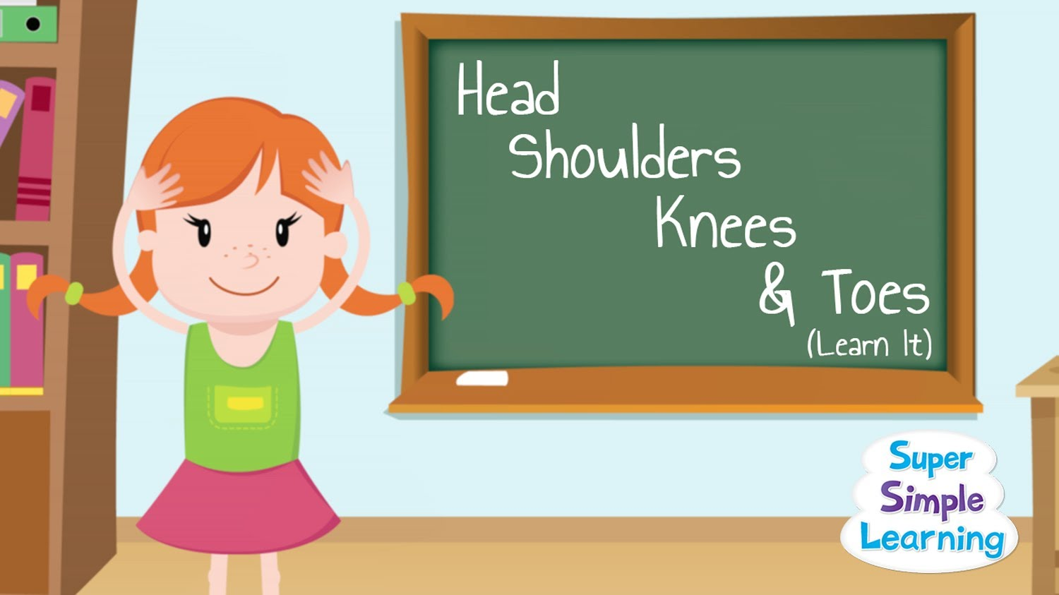 head shoulders knees toes learn