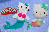 Hello Kitty Mermaid Play-Doh キャラクター練り切り ハローキティ Sanrio Hello Kitty Mermaids Swimming