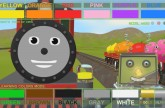 Help Shawn The Train teach the robot about colors! (Learn 13 Colors!)
