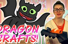 How to Make Your Dragon! Crafts for Kids at Cool School