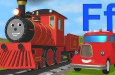 Learn about the letter F (with Alice's new voice!)