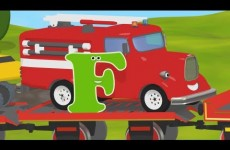 Learn about the letter F with Shawn The Train