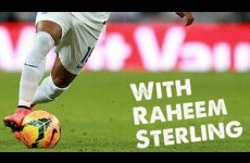 Learn Football skills with Raheem Sterling – Liverpool & England Star 2014