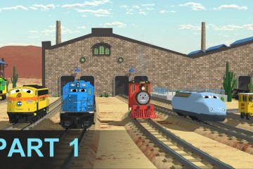 Meet Shawn's Team – Learn Numbers at the Train Factory – Part 1