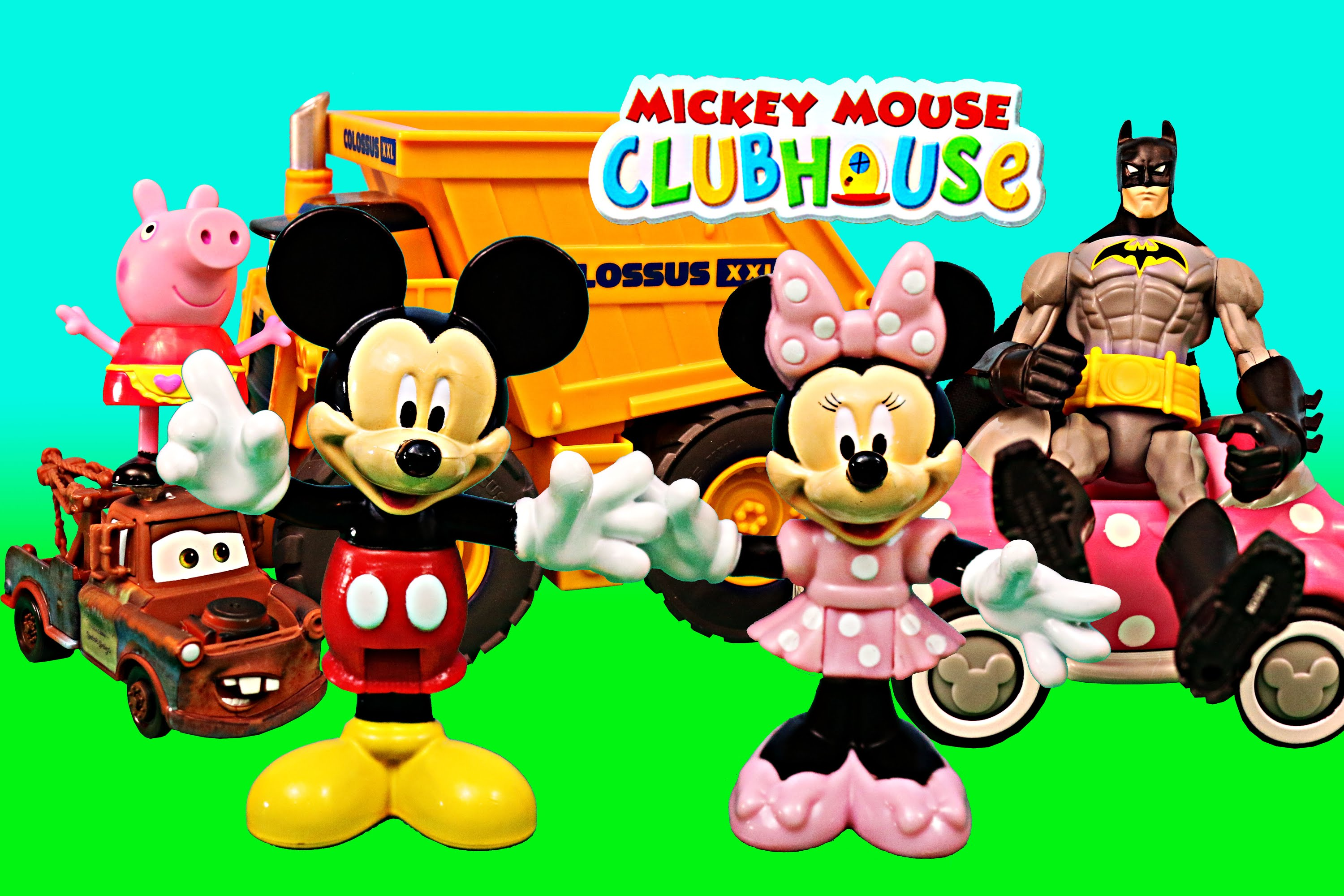 Mickey Mouse Clubhouse with Peppa Pig Minnie Mouse Superheroes