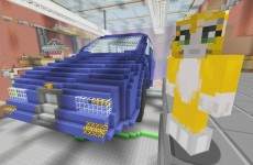 Minecraft Xbox – Toy Story 2 – Garage – {5}