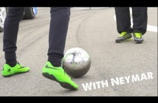 Neymar skills 2014 – Learn Football/soccer skills with Neymar & Cafu