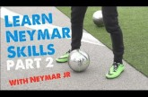 Neymar skills 2014 Part 2 – Learn Football/soccer skills with Neymar & Cafu