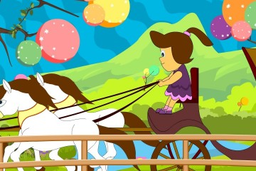 Nursery Rhymes & Children Songs | She'll Be Coming Round the Mountain with Lyrics