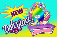 Play Doh NEW Vinci Play Dough Clay Vanity and Design Kit Style and Store Play-doh Paint