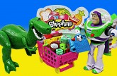 Shopkins Surprise Toy Story Buzz Lightyear Rex Superheroes Batman Shopkin Small Mart Bakery