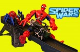 Spiderman Toy Track with Batman, The Hulk and X-Men Wolverine Spider Wars Playset