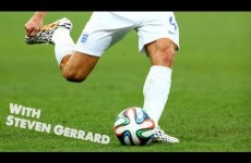 Steven Gerrard | Teaches You To Pass, Shoot and Play Football