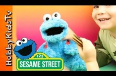 Cookie Monster Count and Crunch – Play and Toy Review – Sesame Street – Hasbro