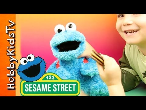 Cookie Monster Count And Crunch Play And Toy Review