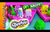 Cute Tiny Shopkins! Toy Story Rex, Bad Guy SuperHero Lurking By HobbyKidsTV #HKTV