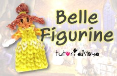 {Disney Princess Series} Belle Rainbow Loom Action Figure/Figurine Tutorial