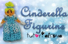 {Disney Princess Series} Cinderella Rainbow Loom Action Figure/Figurine Tutorial
