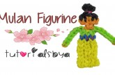 {Disney Princess Series} Mulan Rainbow Loom Figurine Tutorial- ORIGINAL