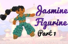 {Disney Princess Series} PART 1 Jasmine Rainbow Loom Figurine Tutorial- ORIGINAL DESIGN