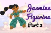 {Disney Princess Series} PART 2 Jasmine Rainbow Loom Figurine Tutorial- ORIGINAL DESIGN