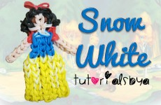 {Disney Princess Series} Snow White Figurine / Action Figure Rainbow Loom Tutorial