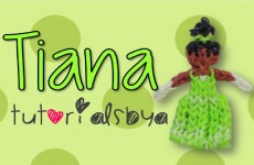 {Disney Princess Series} Tiana Rainbow Loom Figurine Tutorial