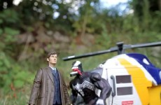 Dr Who and Spawn travel to Dinosaur Land