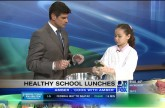 Healthy, fun, and yummy school lunches on Q13 FOX News | Cook With Amber
