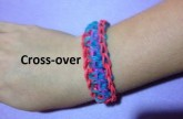 How to Make the Cross-over Bracelet on the Rainbow Loom – Original Design