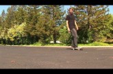 HOW TO PUSH ON A SKATEBOARD THE EASIEST WAY TUTORIAL