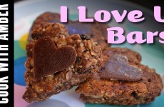 I Love U Bars | Cook With Amber