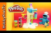Ice Cream Play Doh Sweet Shoppe with Cookie Monster – Toy Review and Play