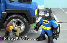 Imaginext Batman DC Super Friends ATV Trixie Break In Twitter Instagram HobbyKidsTV #HKTV