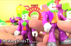 Imaginext Joker's Laugh Factory Batman DC Friends Surprise Play-Doh Egg HobbyKidsTV #HKTV