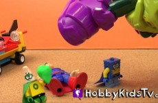 Imaginext SpongeBob Superman Patrick Play-Doh Lex Luthor HobbyKidsTV