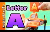 Learn Letter A – Using Real Items – Alphabet for Kids, Preschoolers,Teaching Toddlers, ESL