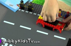 LEGO City Get Away Van Museum Break-in Emmet and Spider-Man Robbers 60008 HobbyKidsTV