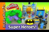 LEGO Emmet, Batman, Spiderman, BUILD Lego Junior Batcave! Hulk Smashes! (Box Open)